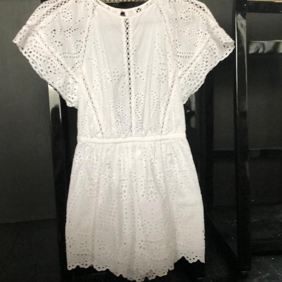 859a6ac73e54 Zimmerman white cotton romper. M 5a6dec0131a376c7c03496f5